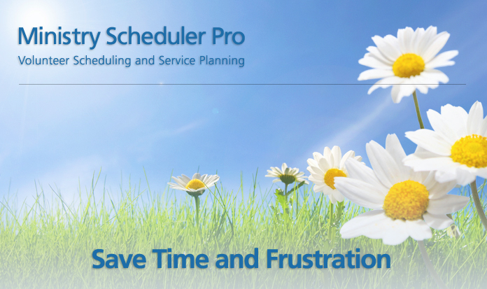 Ministry Scheduler Pro Church Volunteer Scheduling Software