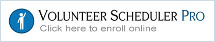 Volunteer Scheduler Pro Scheduling Software - Click to enroll